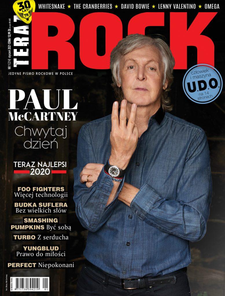 The Beatles Polska: Paul McCartney na okładce styczniowego numeru Teraz Rock